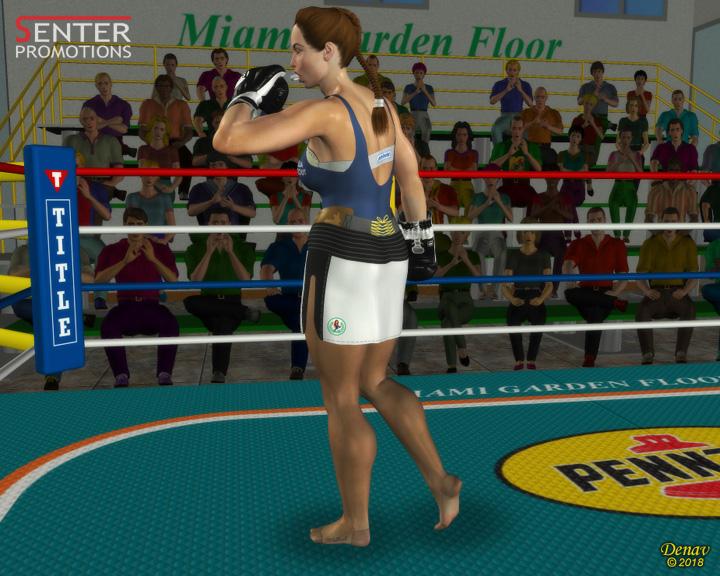 MARIA RITA vs JUANITA - Middleweights - 11/08/2018 - DENAV FORUM